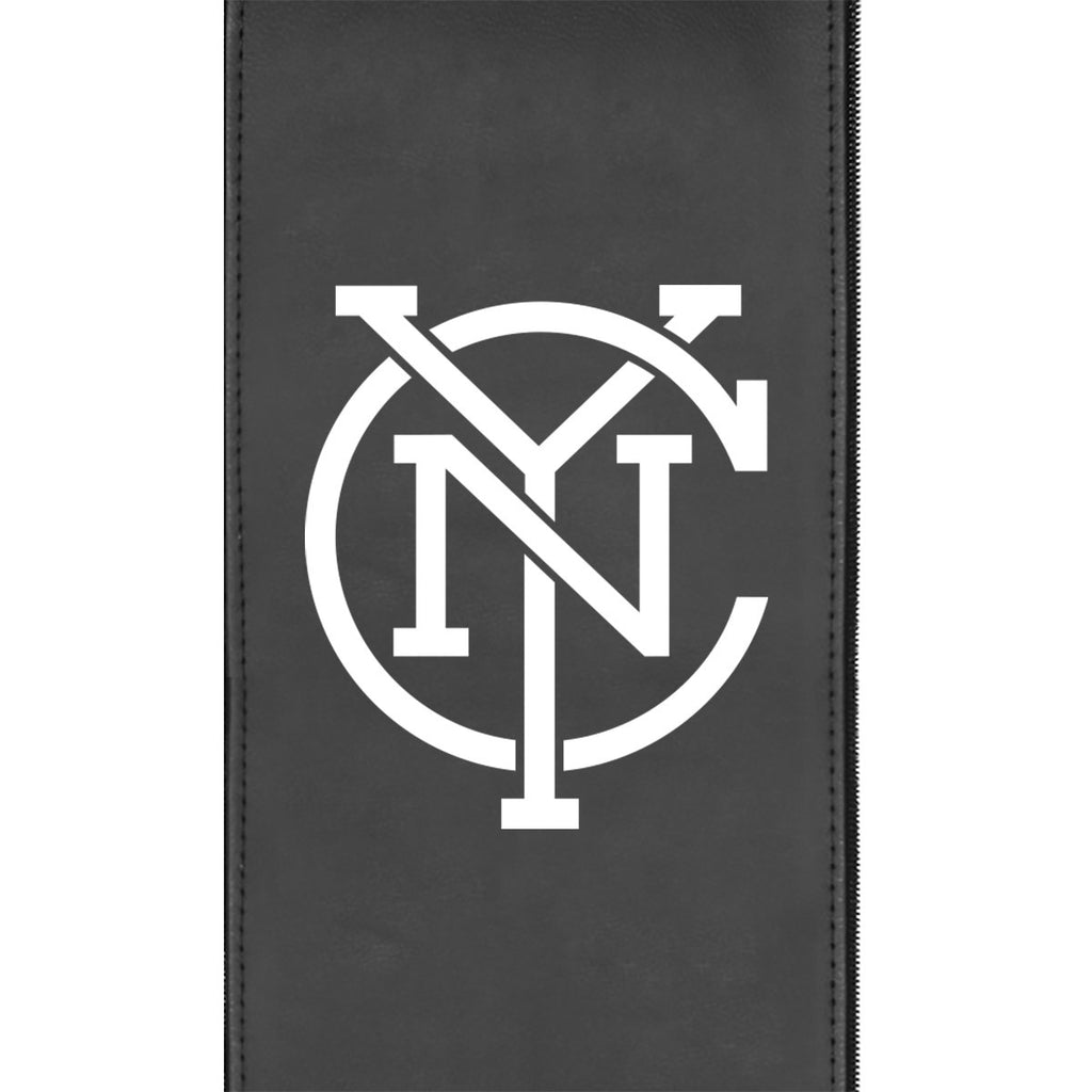 New York City FC Secondary Logo Panel Fits Xpression Gaming Chair Only