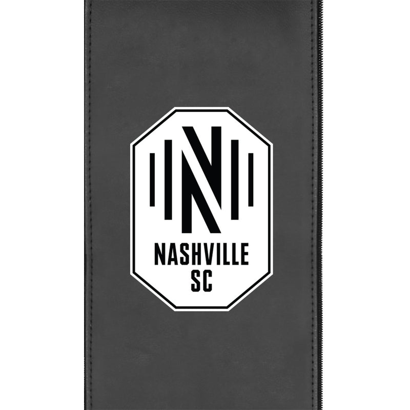 Nashville SC Alternate Logo Panel Fits Xpression Gaming Chair Only