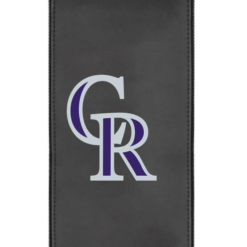 Colorado Rockies Secondary Logo Panel For Xpression Gaming Chair Only