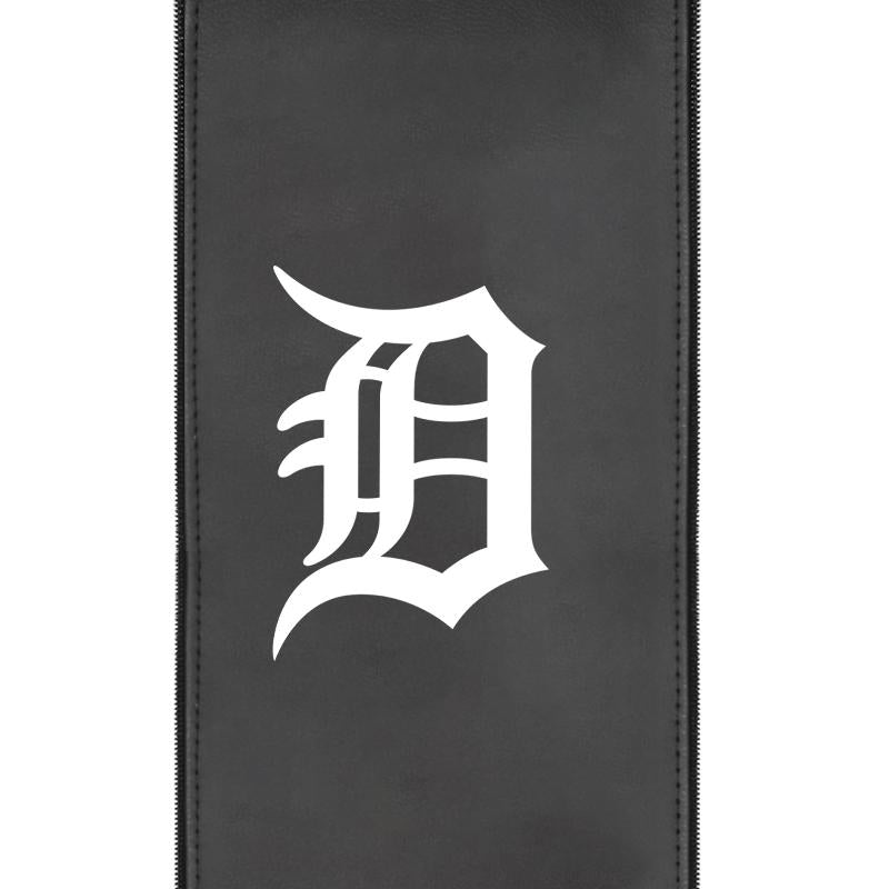 Detroit Tigers White Logo Panel For Xpression Gaming Chair Only