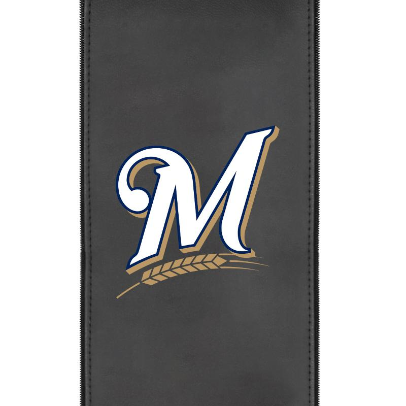 Milwaukee Brewers Secondary Logo Panel For Xpression Gaming Chair Only