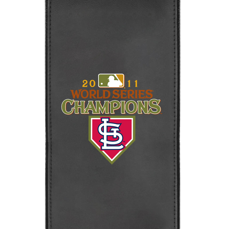 St Louis Cardinals Champs 2011 Logo Panel For Stealth Recliner