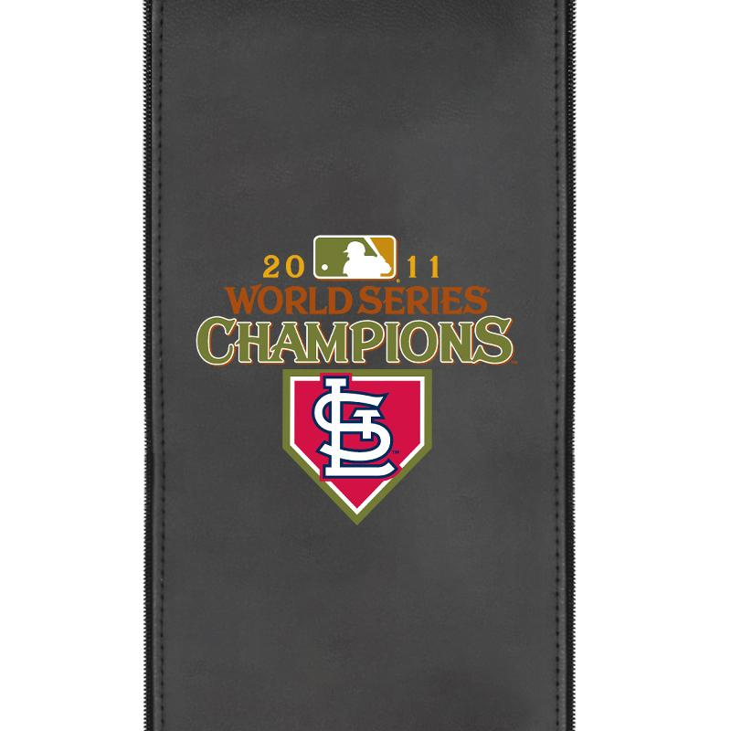 St Louis Cardinals Champs 2011 Logo Panel For Xpression Gaming Chair Only