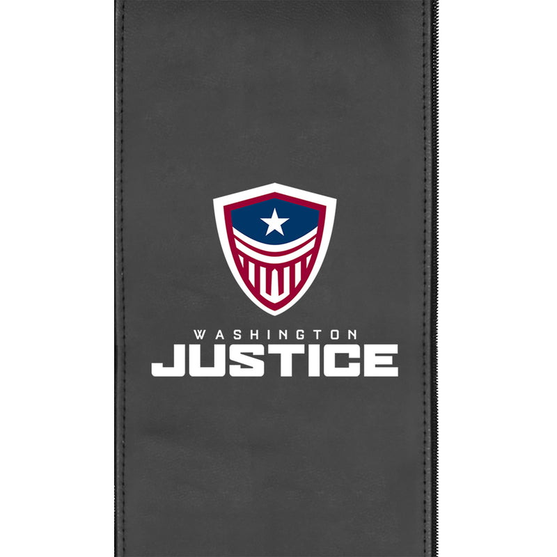Washington Justice Stealth Recliner with Logo