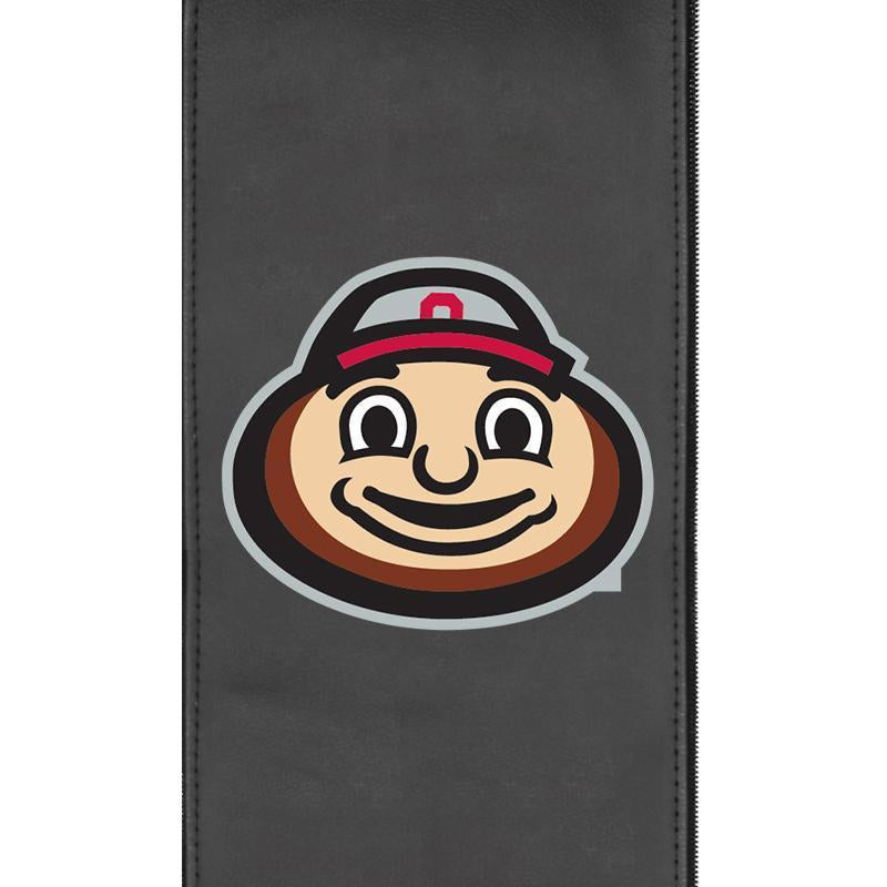 Ohio State University with Buckeyes Brutus Head Xpression Gaming Chair with Logo