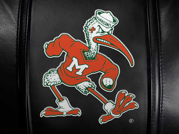 Miami Hurricanes Secondary Logo Panel For Stealth Recliner