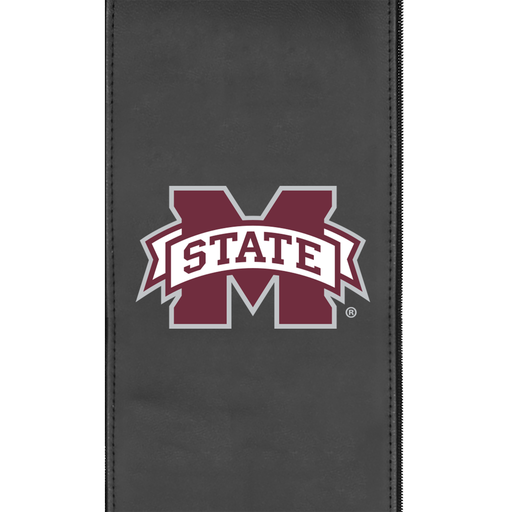 Logo Panel with Mississippi State Primary fits Xpression Gaming Chair Only