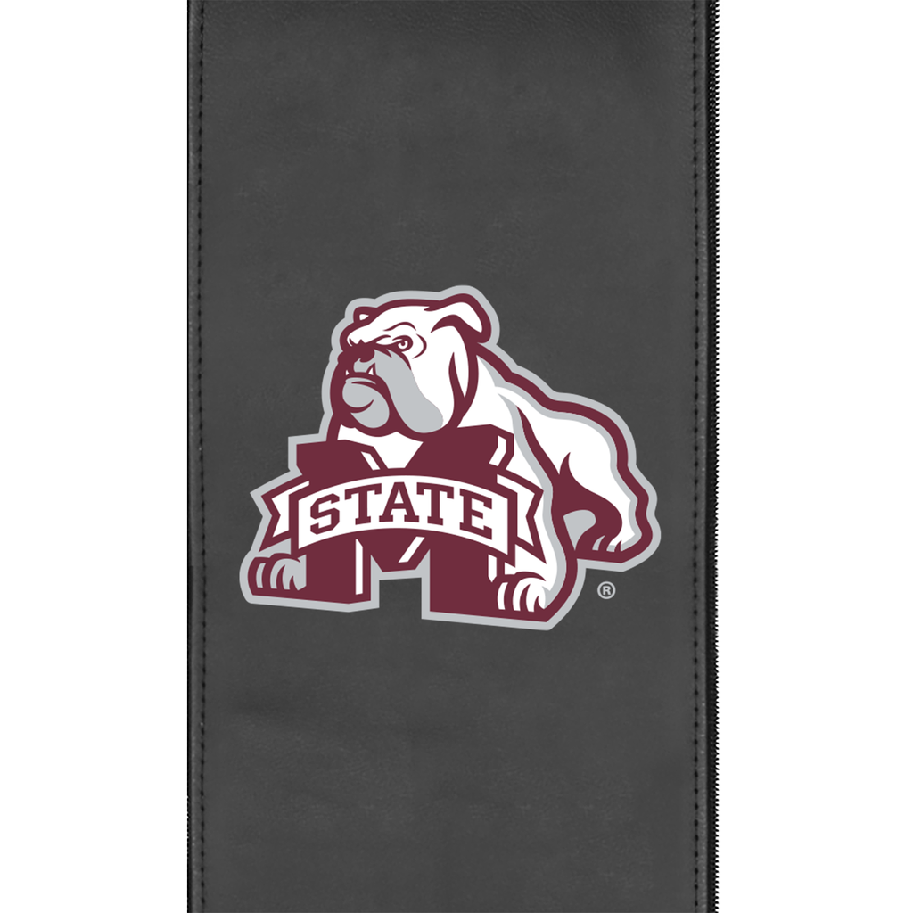 Logo Panel with Mississippi State Secondary fits Xpression Gaming Chair Only