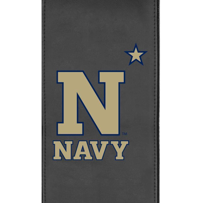 Navy Midshipmen N Star Xpression Gaming Chair with Logo