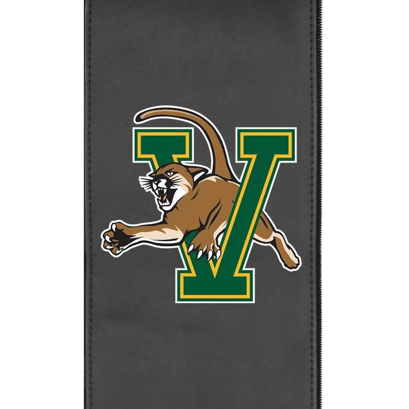 Vermont Catamounts Logo Panel For Xpression Gaming Chair Only