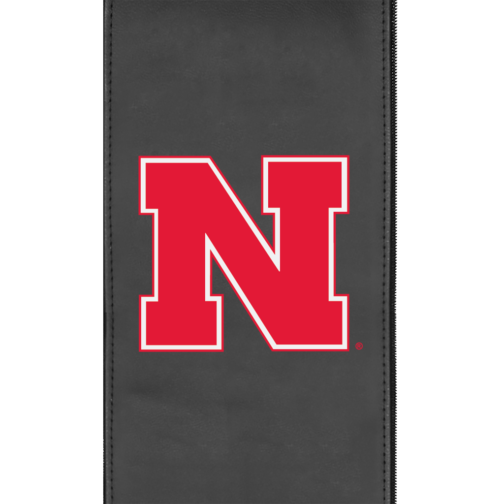 Logo Panel with Nebraska Cornhuskers Primary Fits Xpression Gaming Chair Only