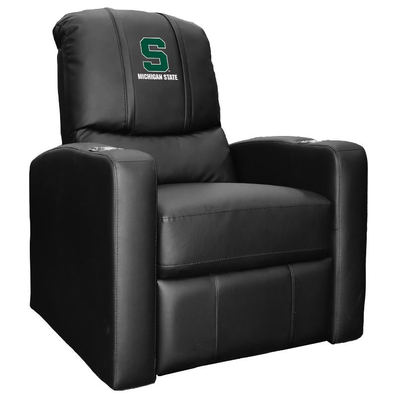 Stealth Recliner with Michigan State Spartans Secondary Logo