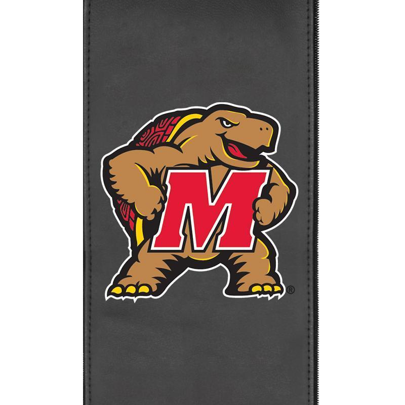 Maryland Terrapins Logo Panel For Xpression Gaming Chair Only