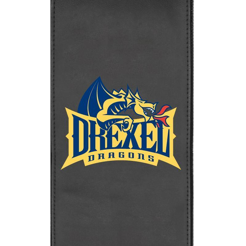 Drexel Dragons Logo Panel For Xpression Gaming Chair Only