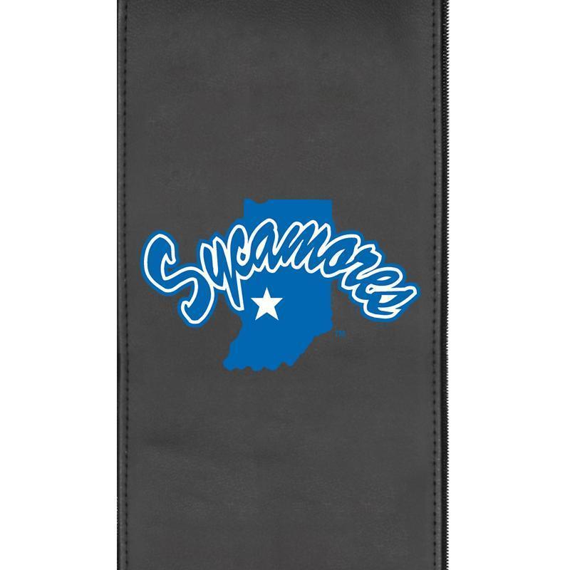 Indiana State Sycamores Logo Panel For Xpression Gaming Chair Only