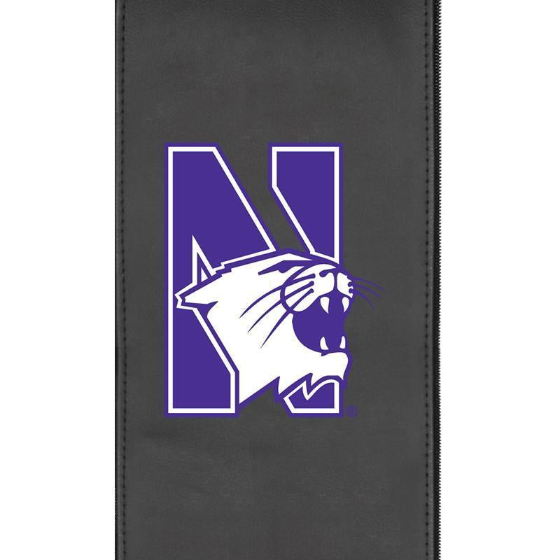 Northwestern Wildcats Logo Panel For Xpression Gaming Chair Only