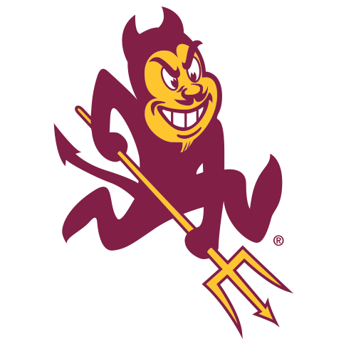 Arizona State Sparky Logo Panel For Stealth Recliner