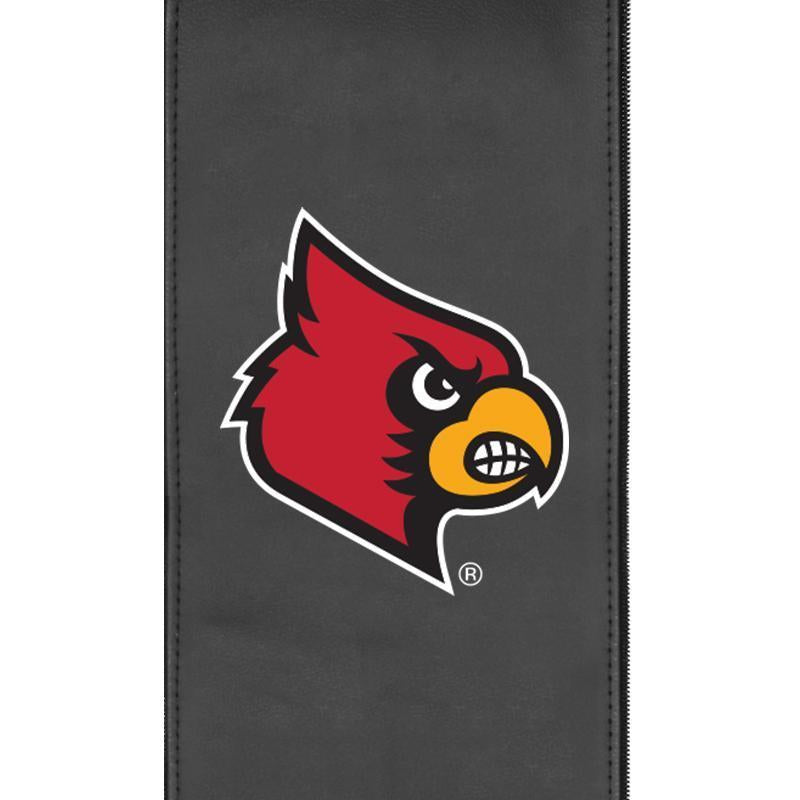 Louisville Cardinals Logo Panel For Xpression Gaming Chair Only