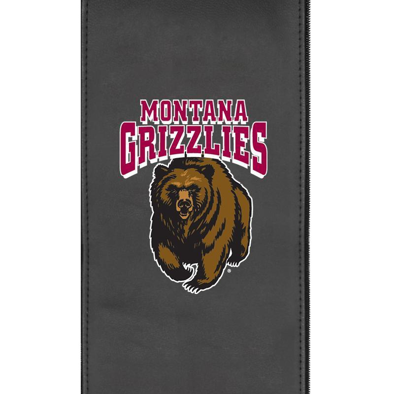 Montana Grizzlies Logo Panel For Xpression Gaming Chair Only