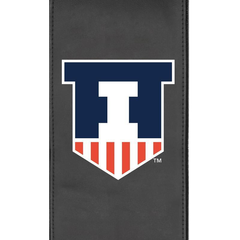 Illinois Fighting Illini Logo Panel For Xpression Gaming Chair Only