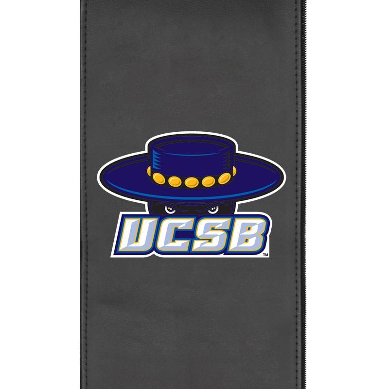 Cal at Santa Barbara Gauchos Logo Panel For Stealth Recliner
