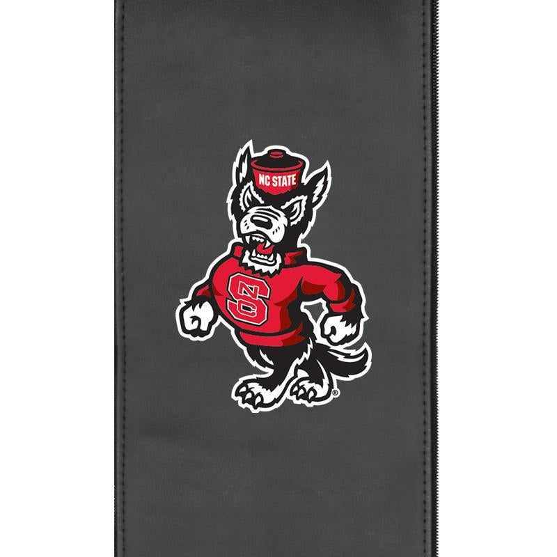 North Carolina State Wolf Logo Panel For Xpression Gaming Chair Only