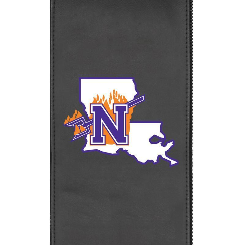 Northwestern State Demons Logo Panel For Xpression Gaming Chair Only