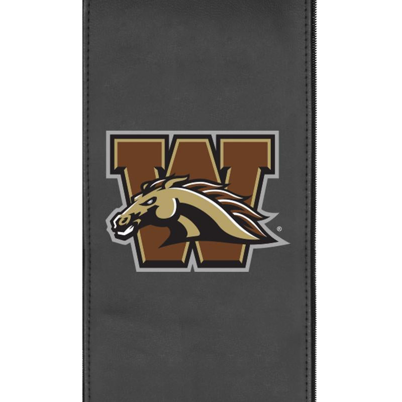 Western Michigan Broncos Logo Panel For Xpression Gaming Chair Only