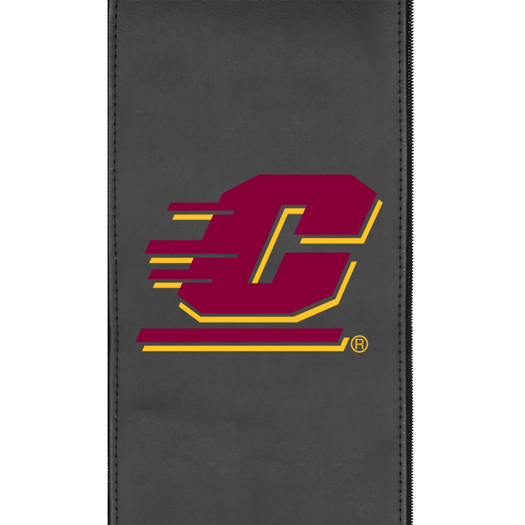 Logo Panel with Central Michigan Primary for Xpression Gaming Chairs Only