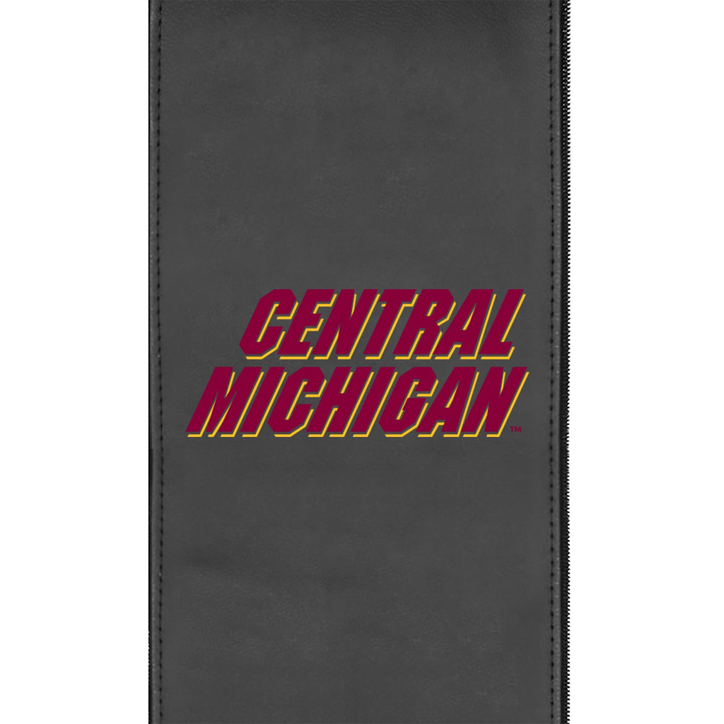 Logo Panel with Central Michigan Secondary for Xpression Gaming Chair Only