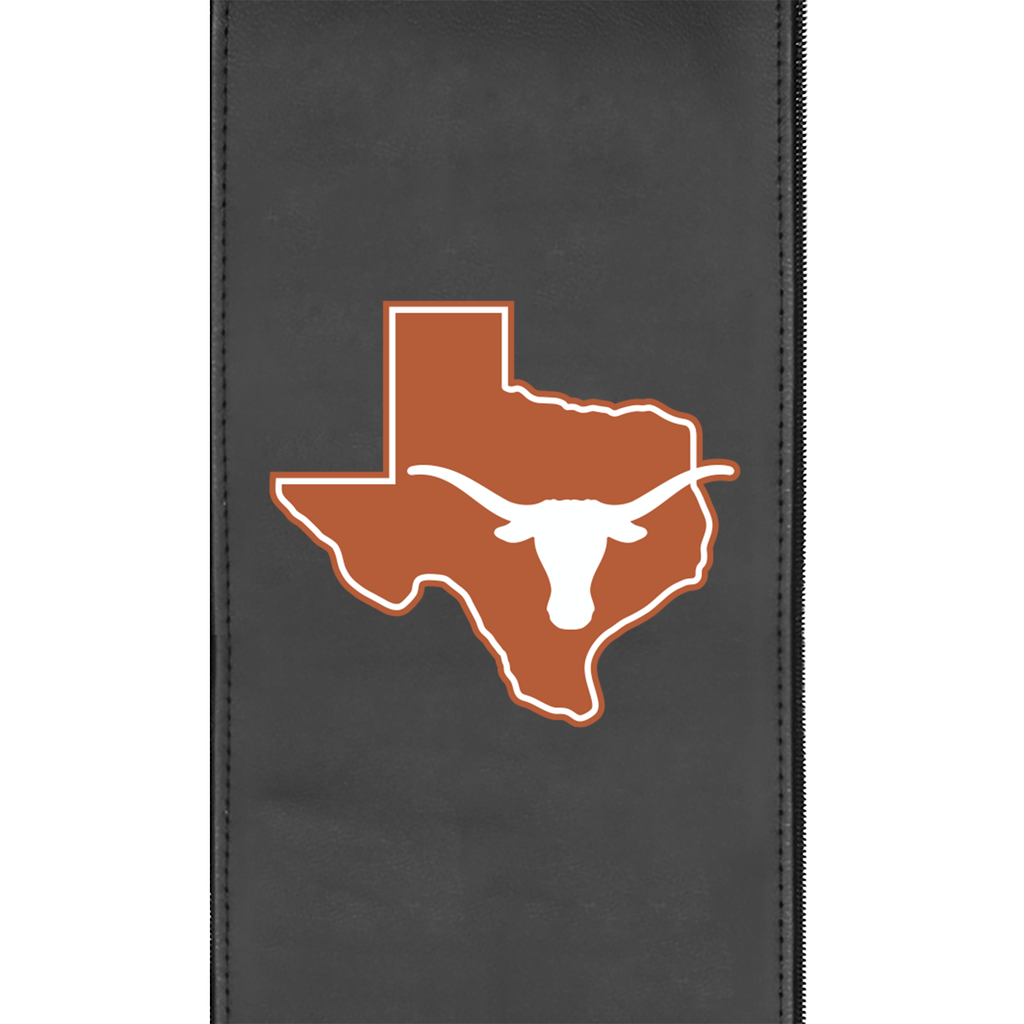 Logo Panel with Texas Longhorns Secondary Fits Xpression Gaming Chair Only