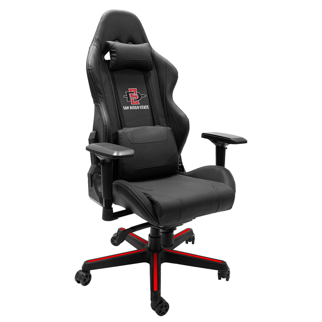 Xpression Gaming Chair with San Diego State Primary