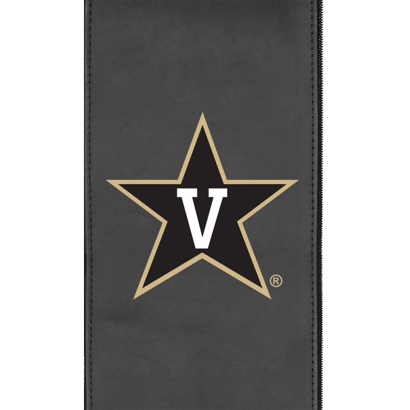 Logo Panel with Vanderbilt Commodores Primary Fits Xpression Gaming Chair Only