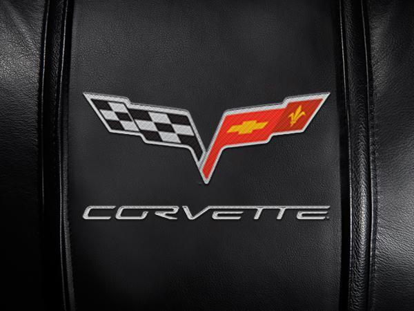 Corvette C6 Logo For Xpression Gaming Chair Only