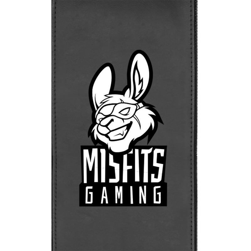 Misfits Gaming Black and White Logo Panel 30""