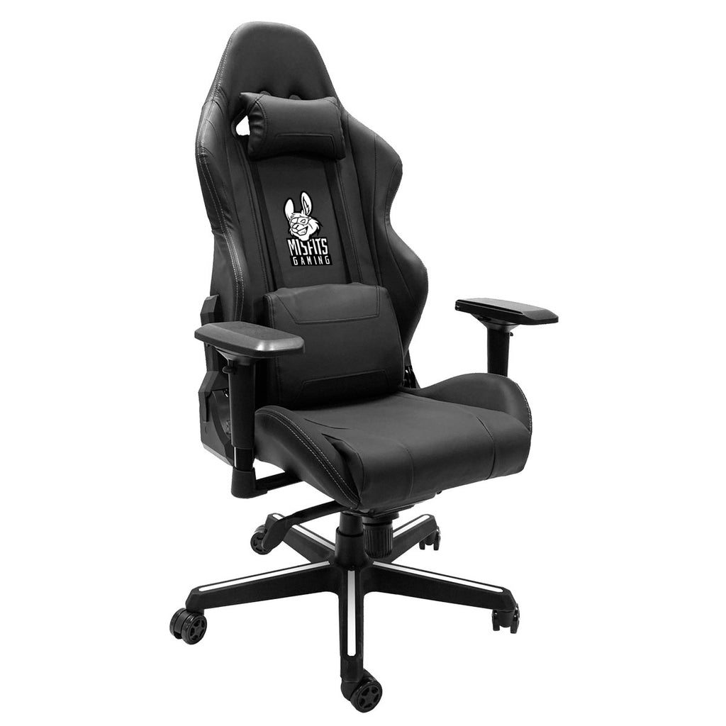 Xpression Gaming Chair with Misfits Gaming Black and White Logo