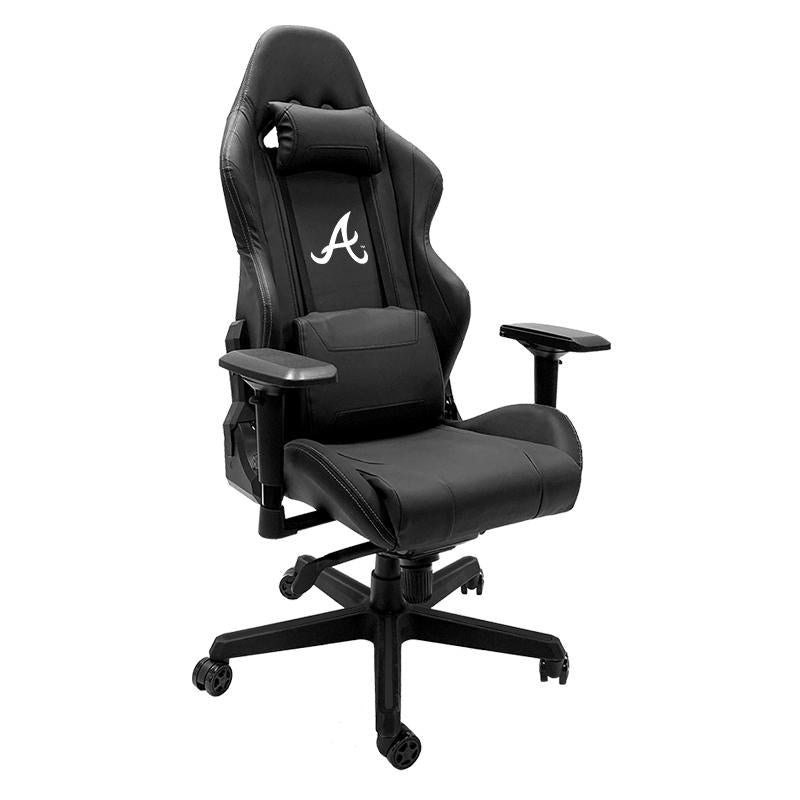 Atlanta Braves Xpression Gaming Chair with Secondary Logo