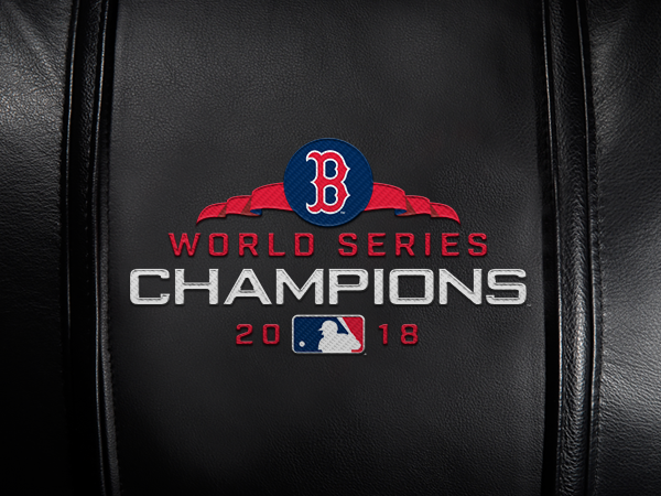 Boston Red Sox 2018 Champions Logo Panel For Stealth Recliner