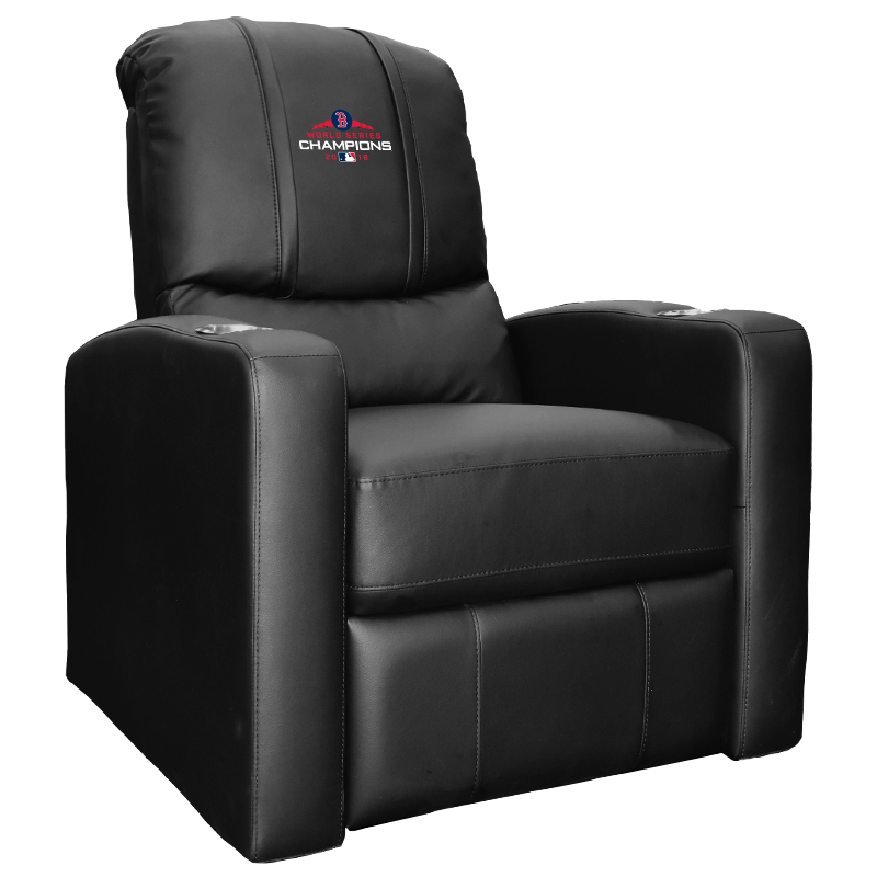 Stealth Recliner with Boston Red Sox 2018 Champions Logo Panel