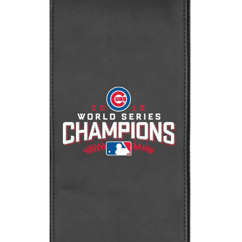 Chicago Cubs 2016 World Series Champs Logo Panel For Xpression Gaming Chair Only
