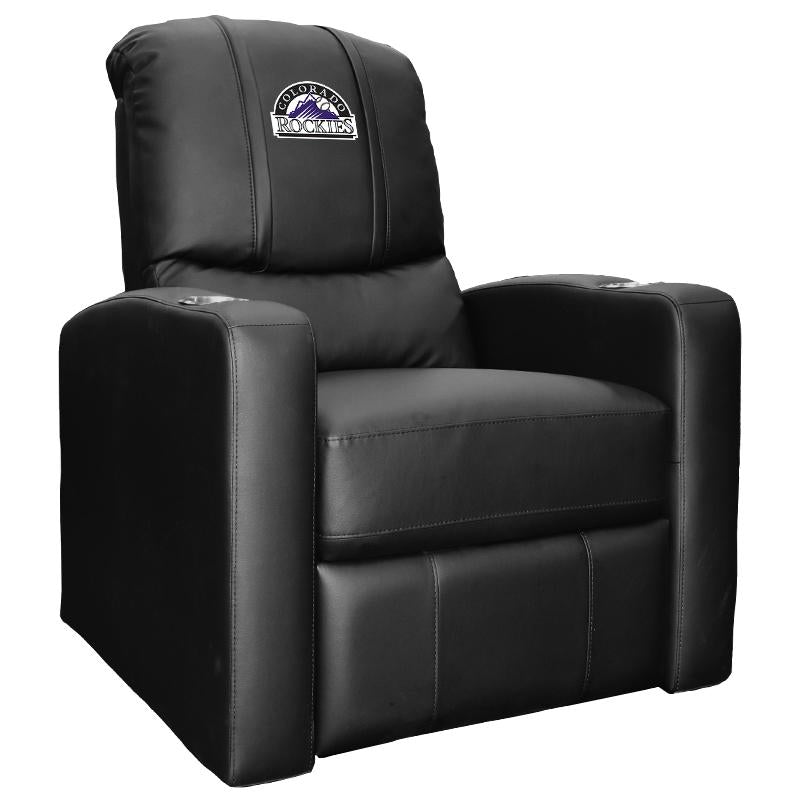 Stealth Recliner with Colorado Rockies Logo