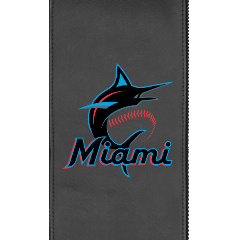 Miami Marlins Primary Logo Panel For Xpression Gaming Chair Only