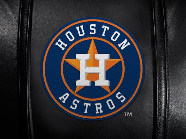 Houston Astros Logo Panel For Xpression Gaming Chair Only