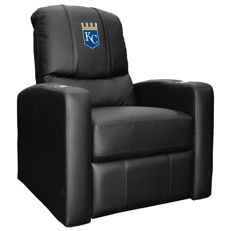 Stealth Recliner with Kansas City Royals Primary Logo Panel