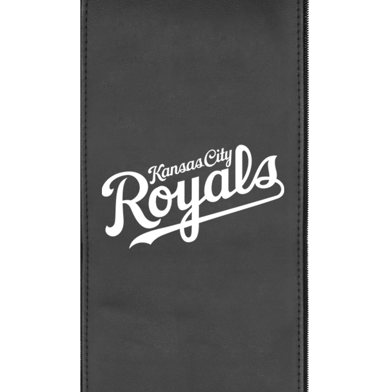 Kansas City Royals Wordmark Logo Panel For Stealth Recliner