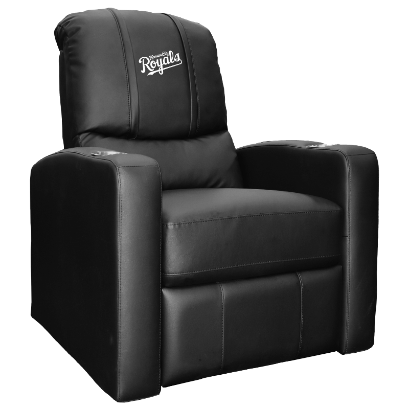 Stealth Recliner with Kansas City Royals Wordmark Logo Panel