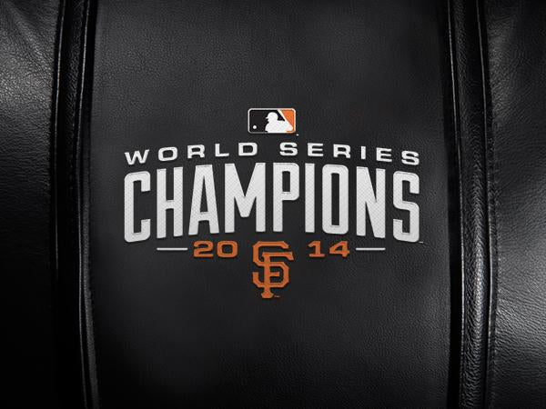 San Francisco Giants Champs'14 Logo Panel For Xpression Gaming Chair Only
