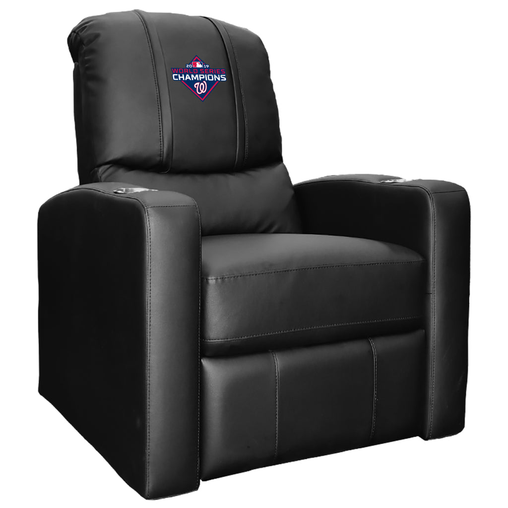 Stealth Recliner with Washington Nationals 2019 Champions