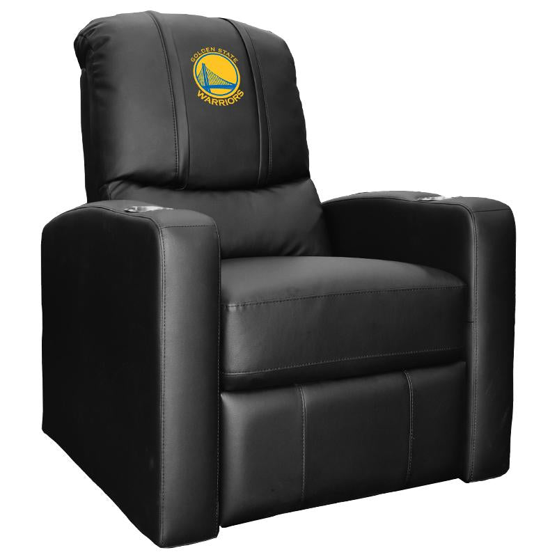Stealth Recliner with Golden State Warriors Global Logo
