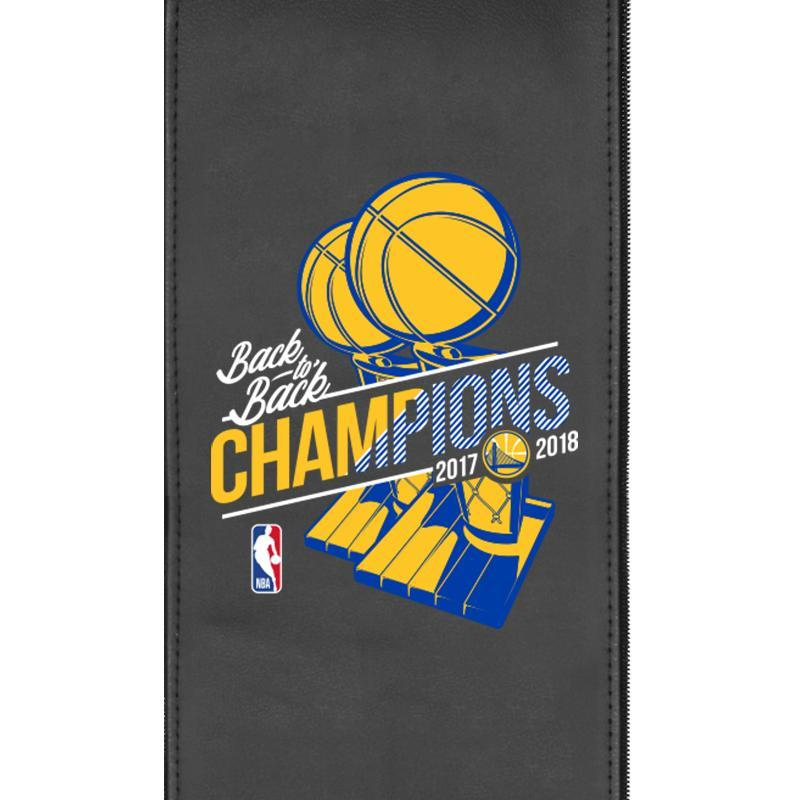Golden State Warriors 2018 Champions Logo Panel For Stealth Recliner